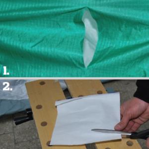 Samodzielna naprawa rozdartej tkaniny